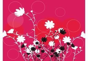 Flowers Circles Design