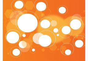 Digital Orange Background