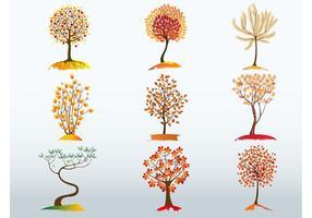 Autumn Tree Vector Bundle