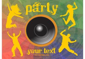 Cool Party Vector