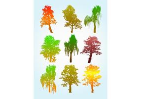 Colorful-tree-silhouette-graphics