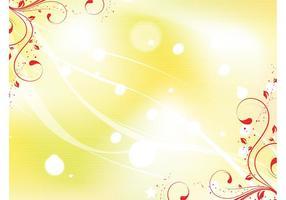 Yellow Swirl Background Image