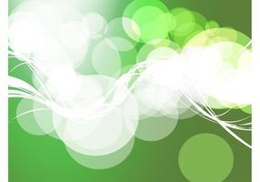 Contexte des cercles verts