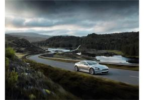 Aston Martin DBS Wallpaper vecteur