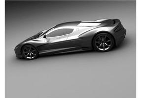 Aston Martin AMV10 Konzept Wallpaper