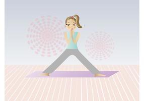 Yoga Cartoon