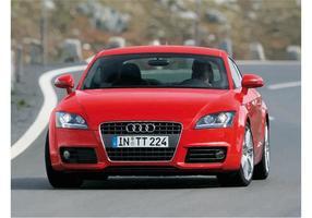 Red Audi tt s-line