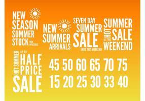 Summer Sales Graphics