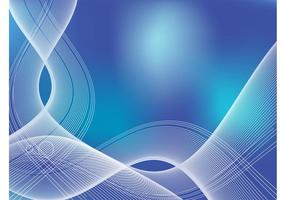 Blue Ribbon Background