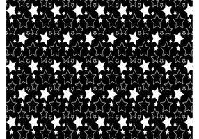 Einfache Sterne Muster