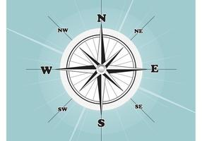Compass-rose-vector