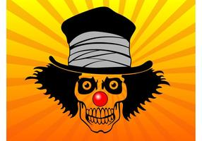 Top-hat-skull-vector
