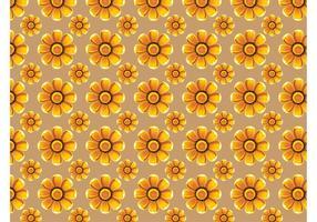 Zonnebloemen Vector Patroon