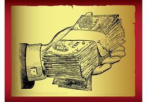 Folheto de dinheiro