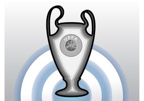 Champions League Cup Vektor