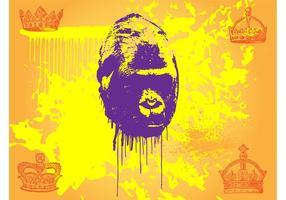 Gorilla vektor