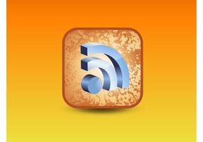 RSS 3D Icon