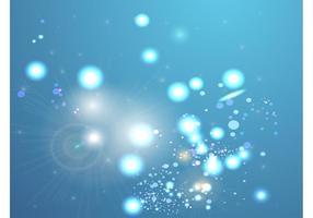 Blauer mystischer Hintergrund