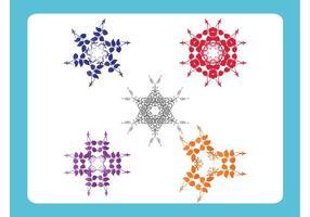 Gráficos de formas florales