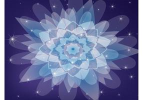 Lila Kaleidoskop Vektor