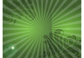 Green Swirls Image