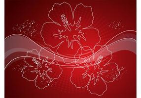 Flowers Swirls Vectors