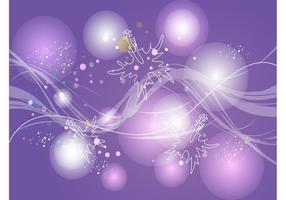 Purple Energy Background