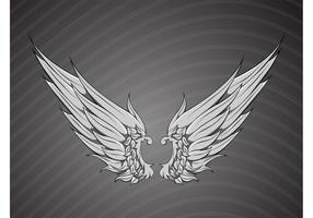 Free Ornate Wings Vector