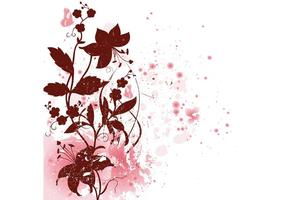Schöner Blumenvektor