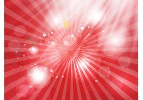 Glänzenden roten Hintergrund
