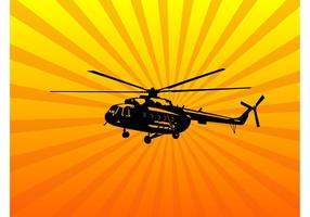 Helikopter Vector Art