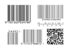 Barcodes Vektoren