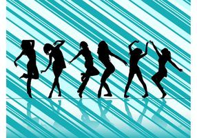Dancing-women-vector-silhouettes