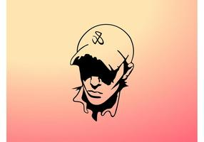 Vector Boy With Hat