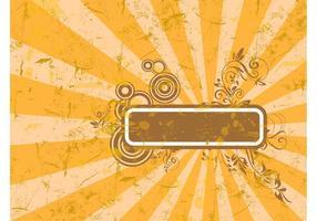 Orange Grunge Template