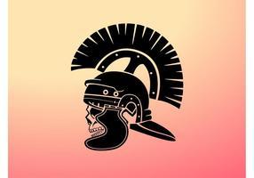 Centurion Skull Vector