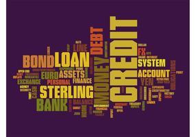 Finance Texts Graphic