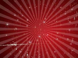 Red Star Grunge Background