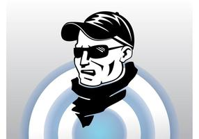 Sports Fan Vector Art