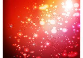 Röd gnistrar vektor