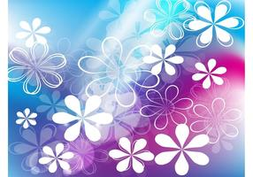 Cute-flowers-vector-background