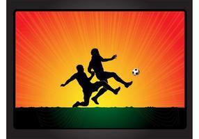 Football Game Vector
