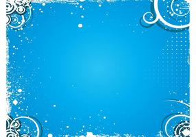 Blue Splash Vector Background