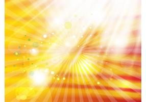 Fondo de los rayos claros del oro