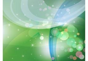 Abstract-green-sparkles-background