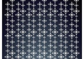 Fallende sneeuwvlokkenpatroon