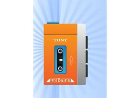 Cool Walkman Vector