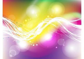 Fondo colorido de la energía