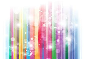 Rainbow Stripes Bubbles Background