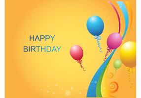 Balões de aniversario